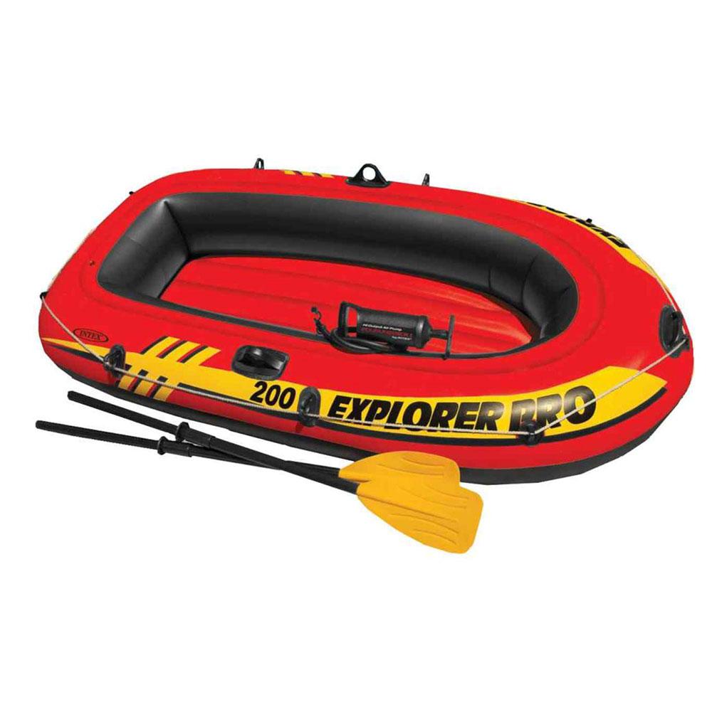 Надувная лодка INTEX 58357 Исследователь про 200 с аксессуарами, 195х101х33см