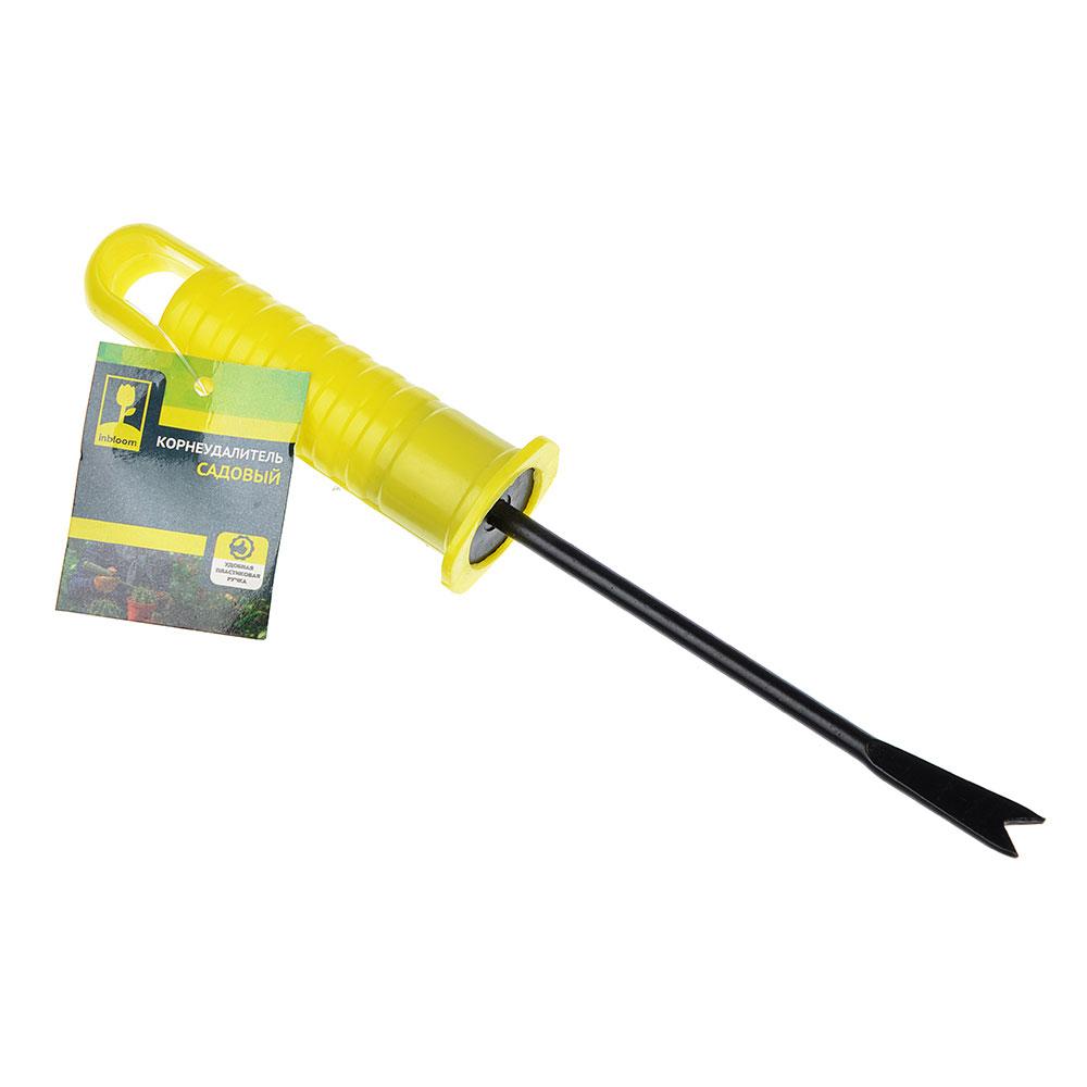 """Корнеудалитель, с пластиковой ручкой, 20 см, 3х3х20, INBLOOM """"эконом"""""""