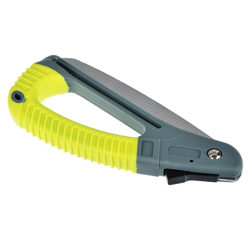 INBLOOM Пила садовая 40см, складная, пластиковая ручка с лафетом, нож 18см
