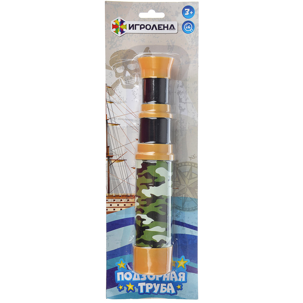 ИГРОЛЕНД Подзорная труба, пластик, 35х11х5см