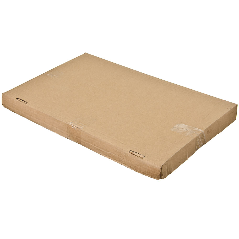 Мангал с 6 шампурами в коробке 1,5мм сталь (глубина мангала 143 мм) 50х30х50см, арт.МНГ-16