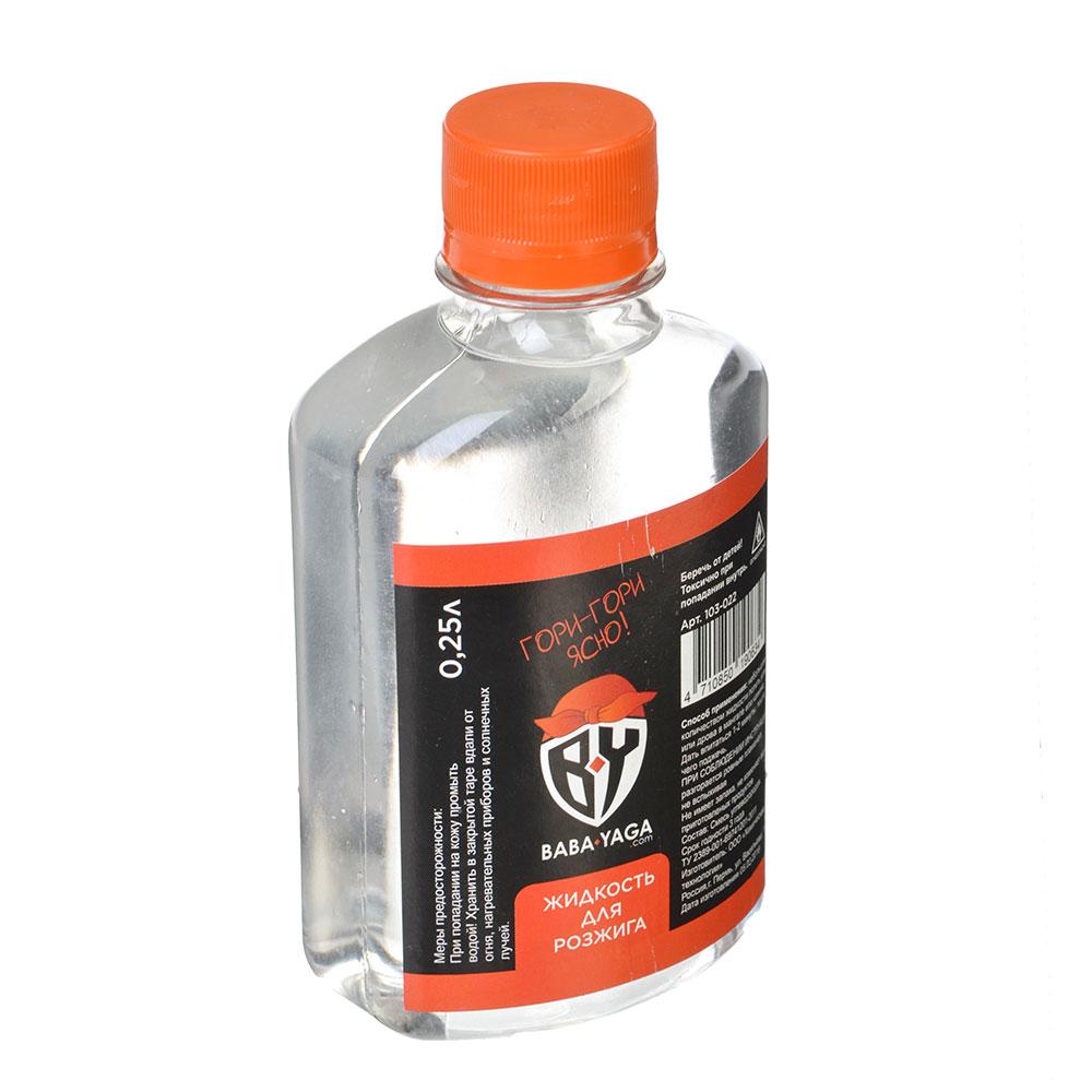 Жидкость для розжига костра, 220/250 мл