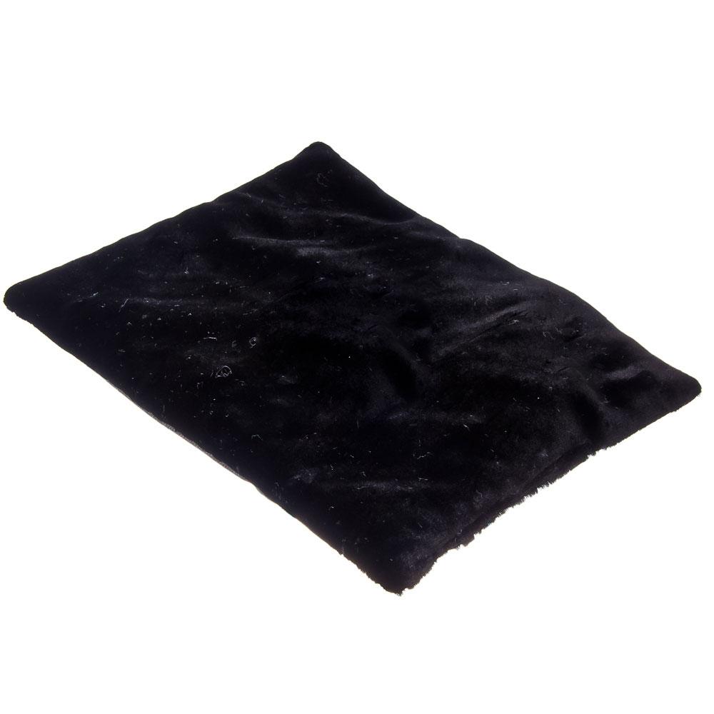 NEW GALAXY Подушка меховая на сиденье, 40x32см, черная