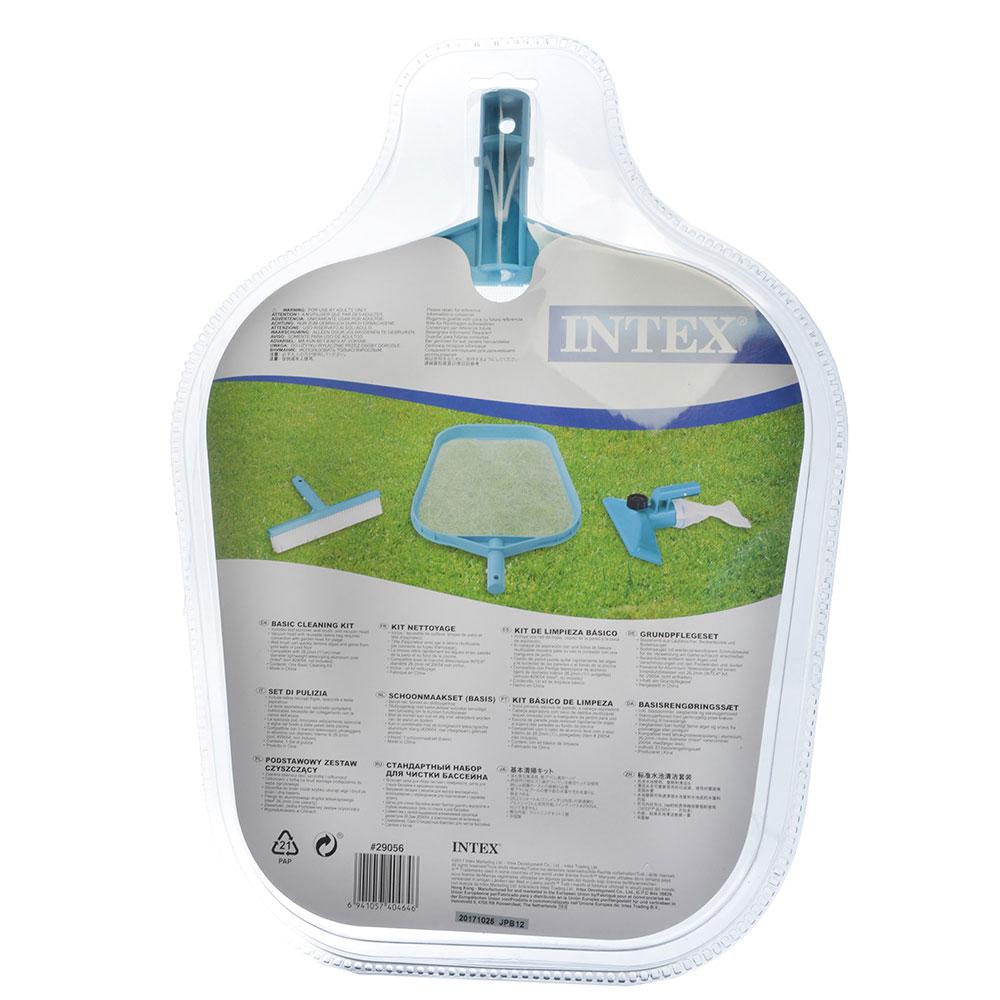 Набор для чистки бассейна, скиммер/вакуумная головка, INTEX Стандарт для 58958, 29056