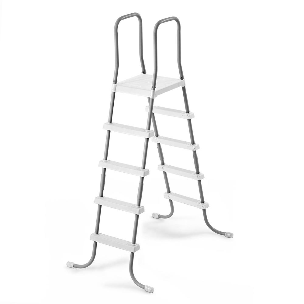 """INTEX Лестница для бассейна со съемными ступеньками, 132см, (к бассейнам с h 42"""" и 36""""), 28059"""