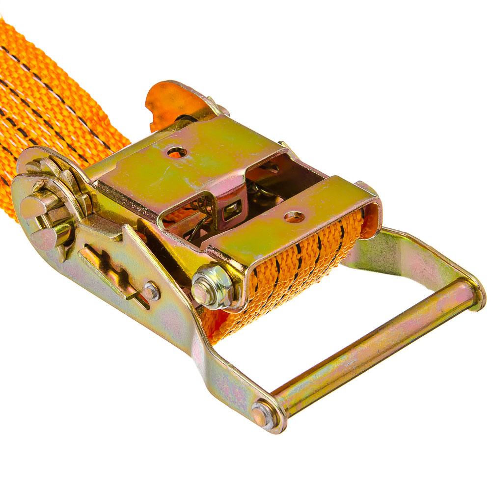 NEW GALAXY Стяжка груза с храповиком 135мм, 10м, шир.ленты 50мм, 2000/4000кг