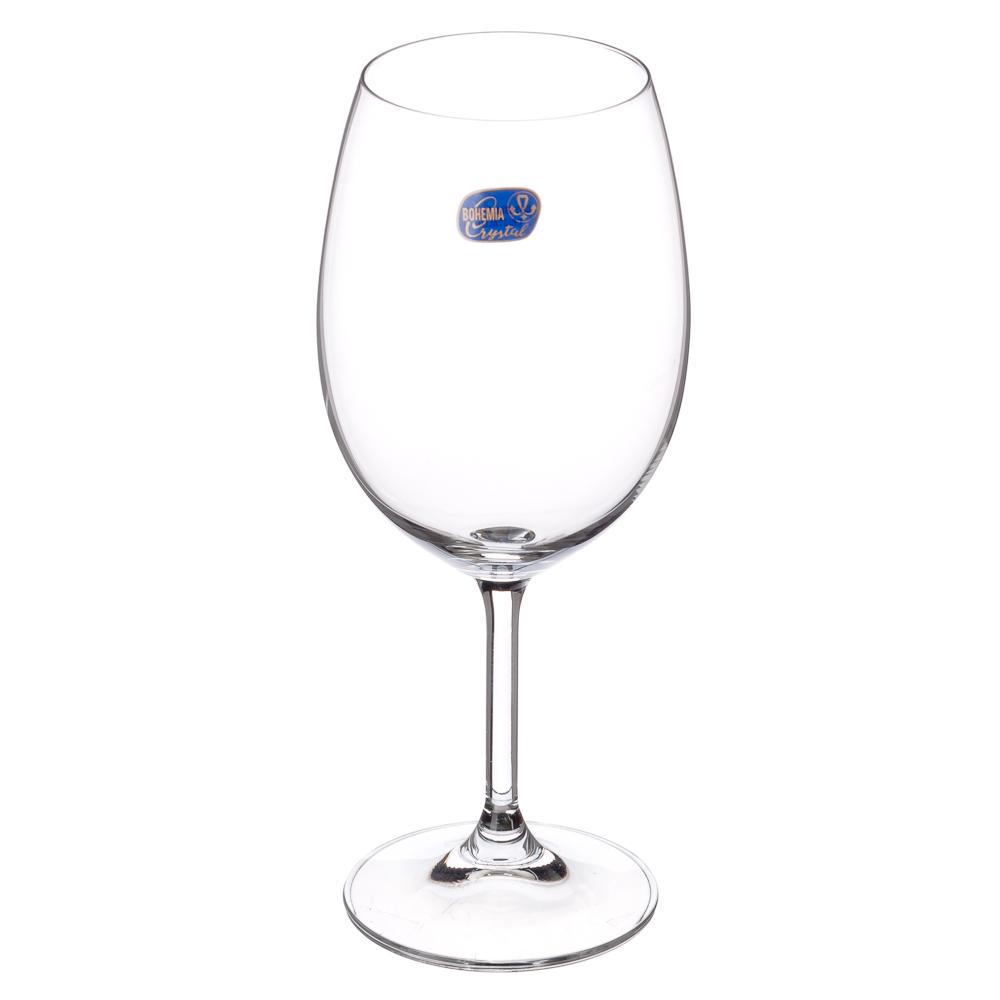 """БОГЕМИЯ Набор бокалов 6шт для вина, 450мл, """"Лара"""", 40415/450"""