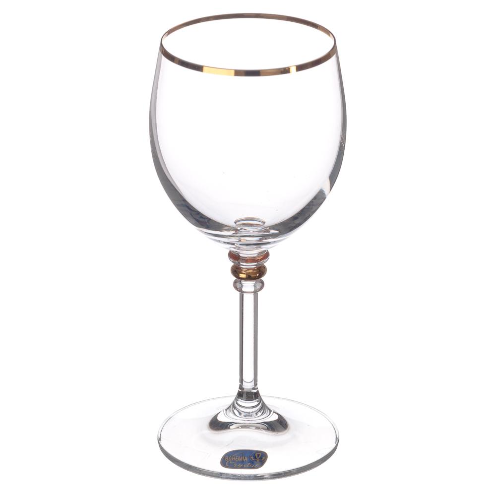 """БОГЕМИЯ Набор бокалов 2шт для вина, 240мл, """"Оливия"""", 40346/20314/240/2"""