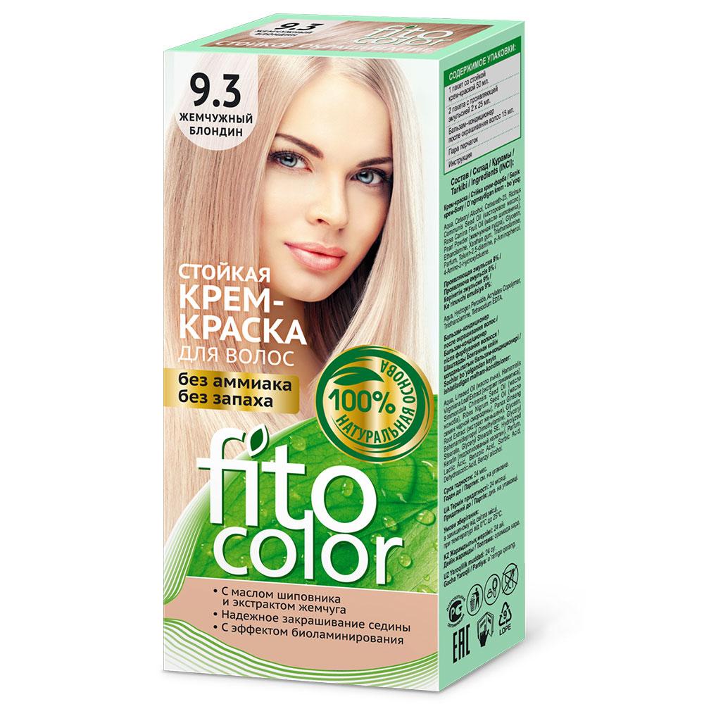 """Крем-краска стойкая для волос серии """"Fitocolor"""", тон жемчужный блондин 115мл, 4832"""