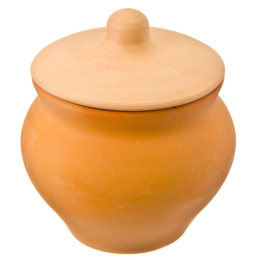 Горшок для запекания Традиция, 500мл, керамика, ОБЧ14456776