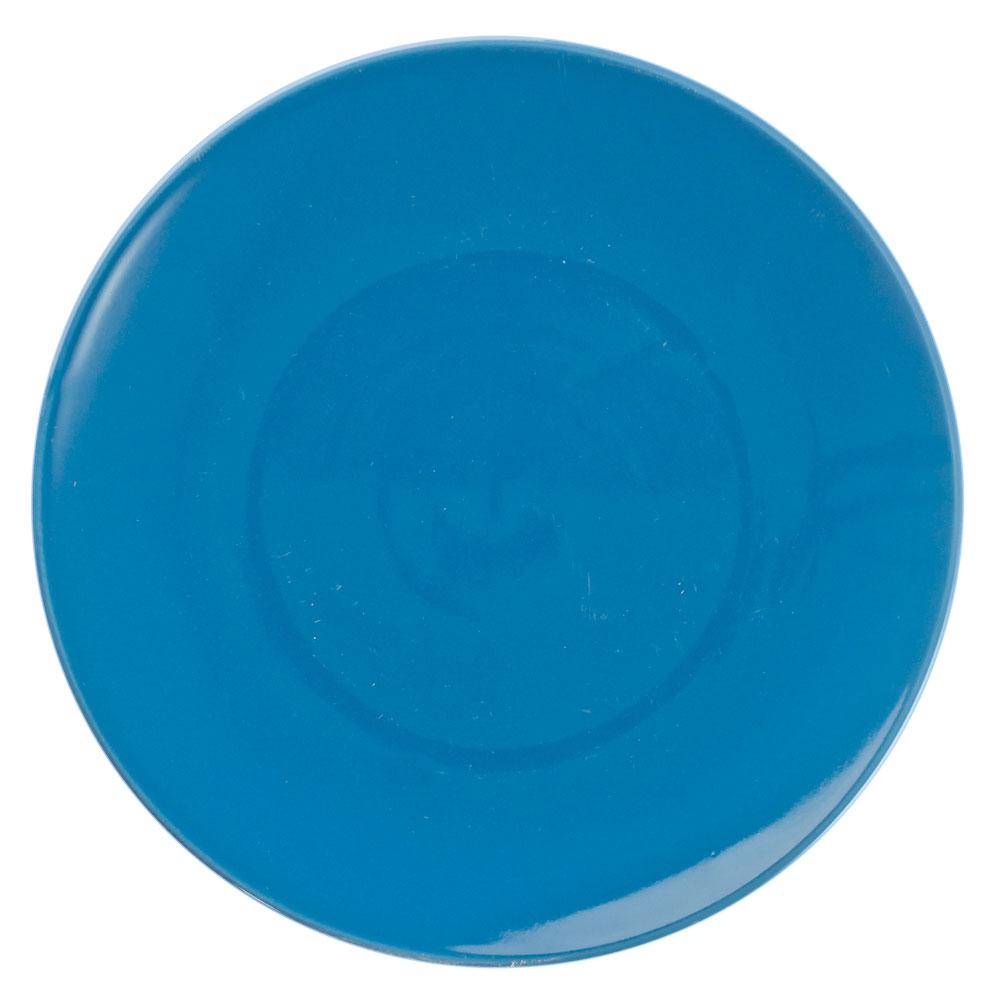 Палитра Тарелка десертная, 20см, керамика, синий