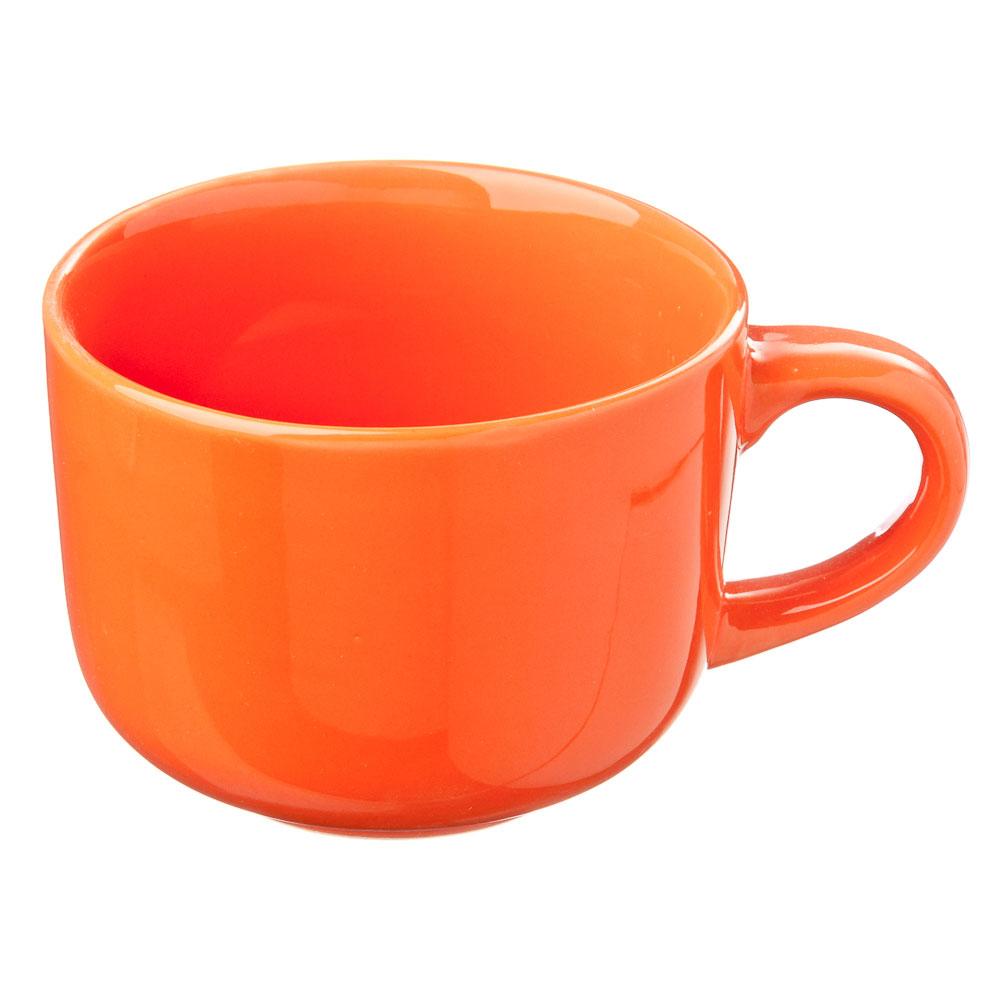 Палитра Бульонница, 500мл, керамика, оранжевый