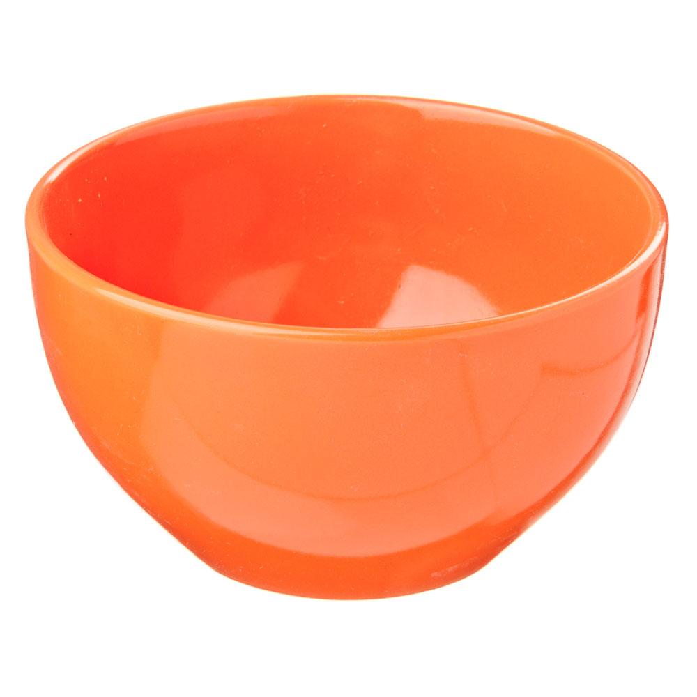 Палитра Салатник, 14см, керамика, оранжевый