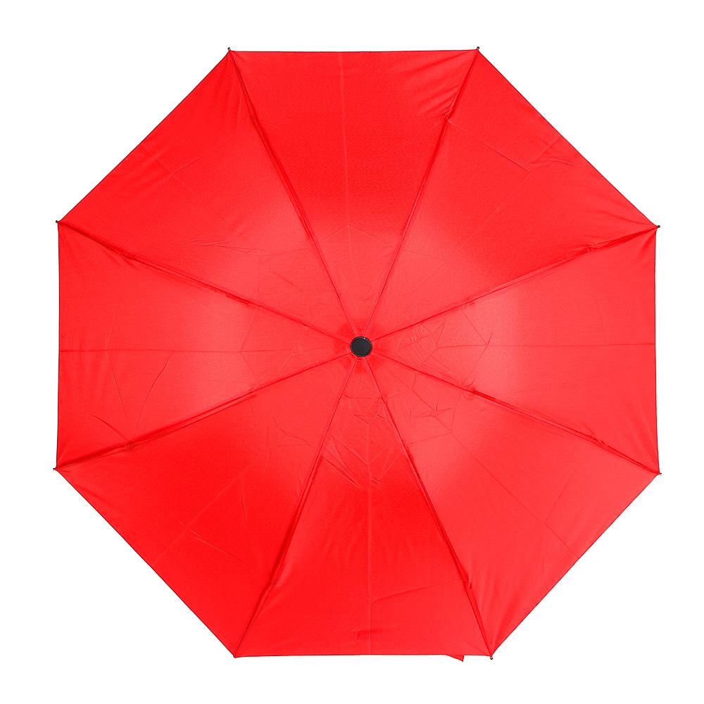 Зонт женский механика, 3 сложения, 6 дизайнов
