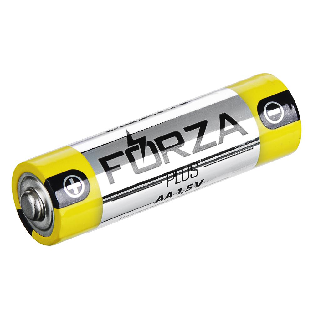 "FORZA Батарейка 1шт ""Alkaline"" щелочная, тип AA, 1,5В, отрывная цена за 1 шт"
