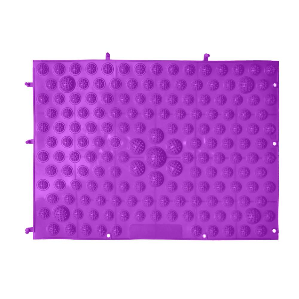 Массажер-коврик, ПВХ, 39х28 см, SILAPRO