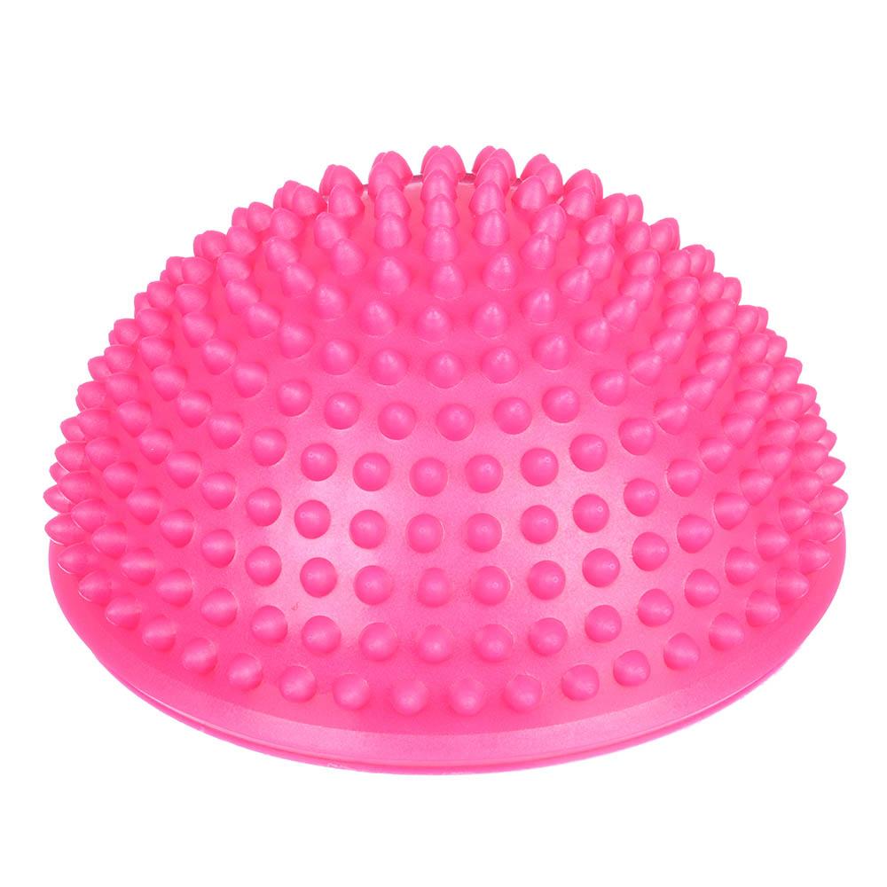 Мяч массажный, ПВХ, 16,5 см, 4 цвета, SILAPRO