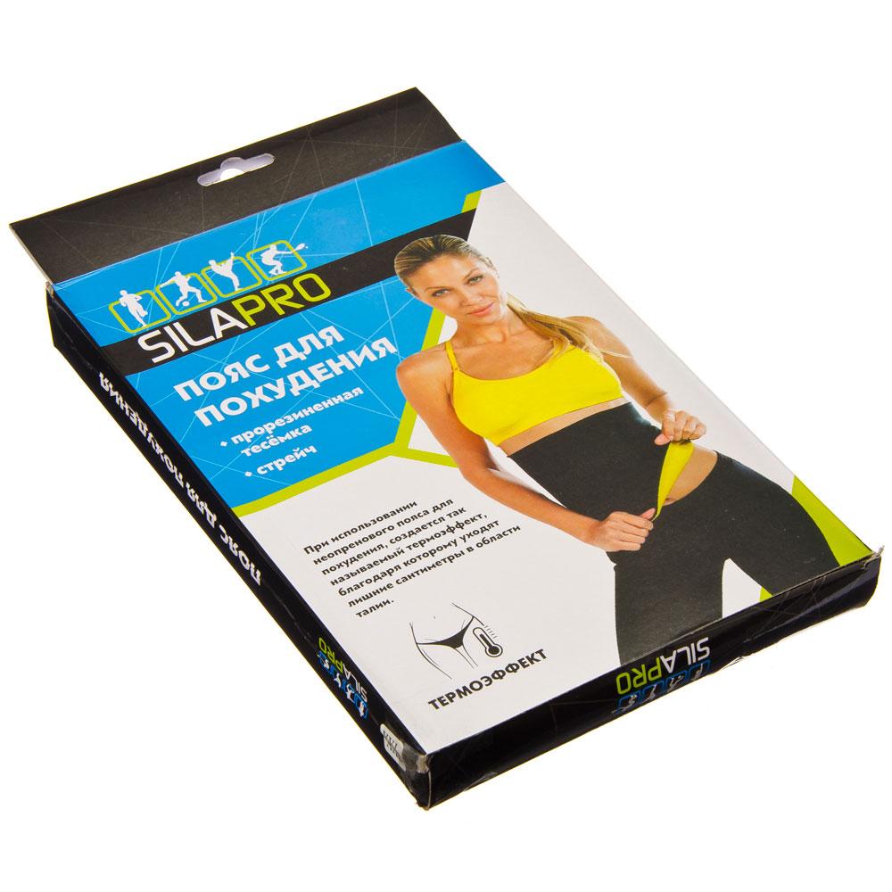 Пояс для похудения, стрейч, прорезиненная тесемка, 34х24 см