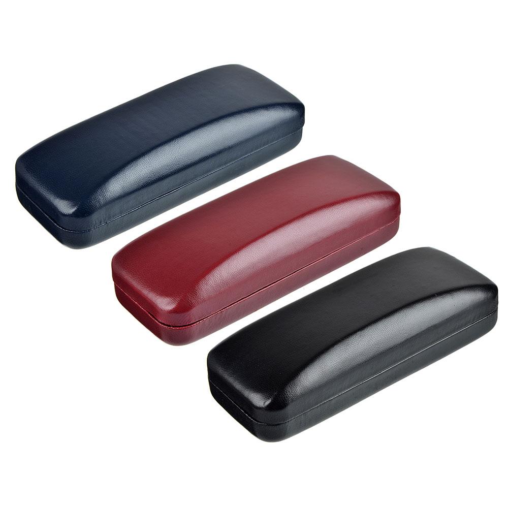 Футляр для очков коррекционных, полиуретан, 16х3,7см, 3 цвета