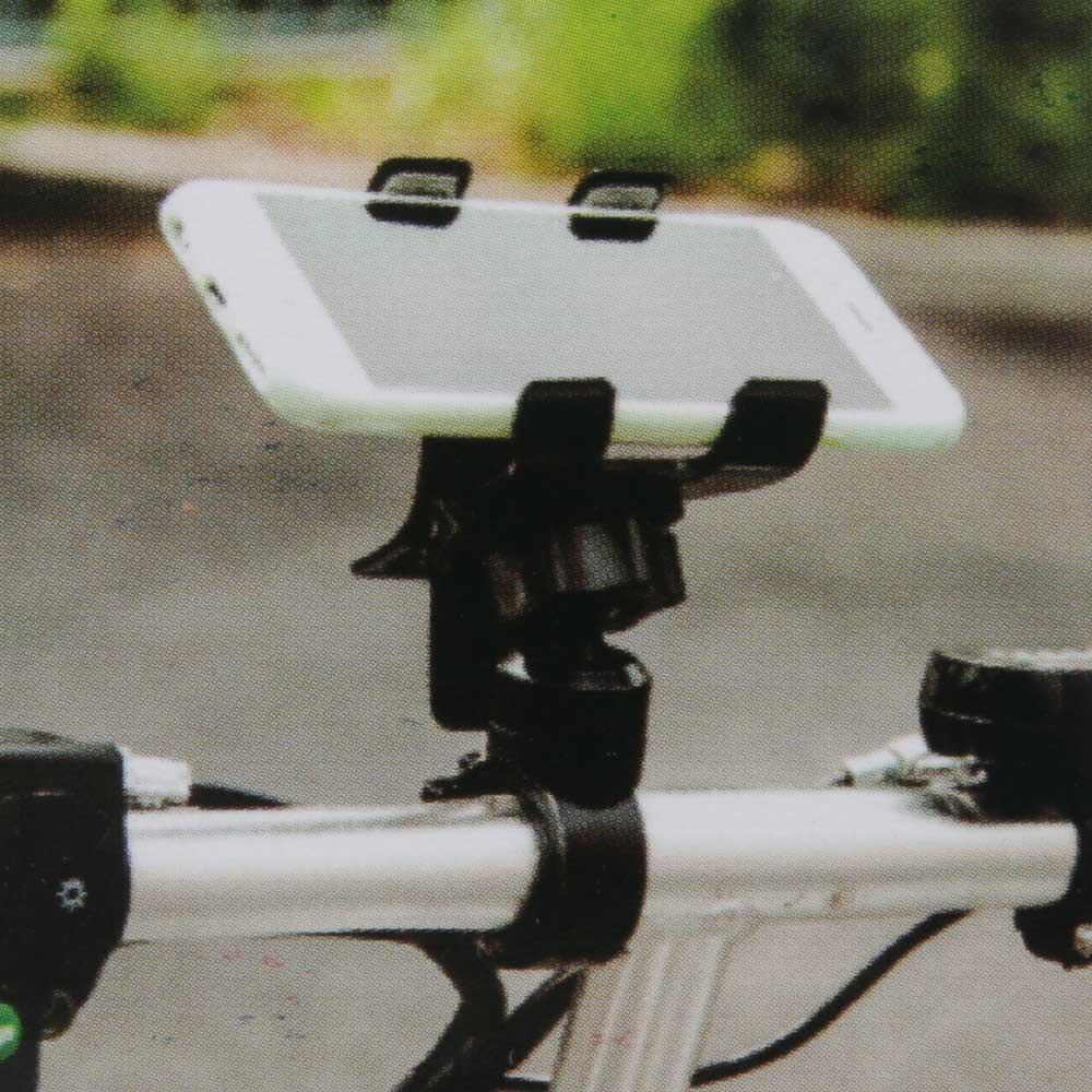 """Велодержатель для смартфона, пластик, 13х9х6 см, SILAPRO """"Прищепка"""""""