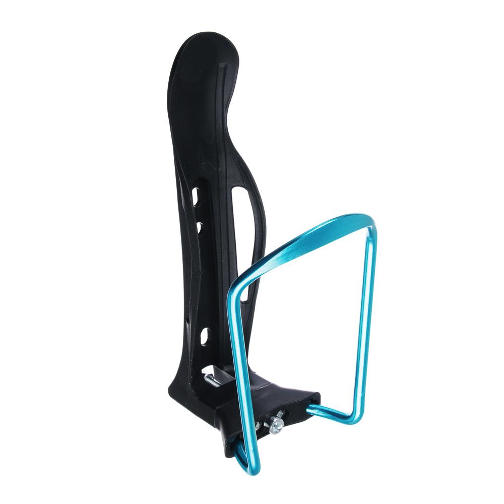 SILAPRO Держатель фляги велосипедный регулируемый, 15х8х7см, пластик, металл, 5 цветов
