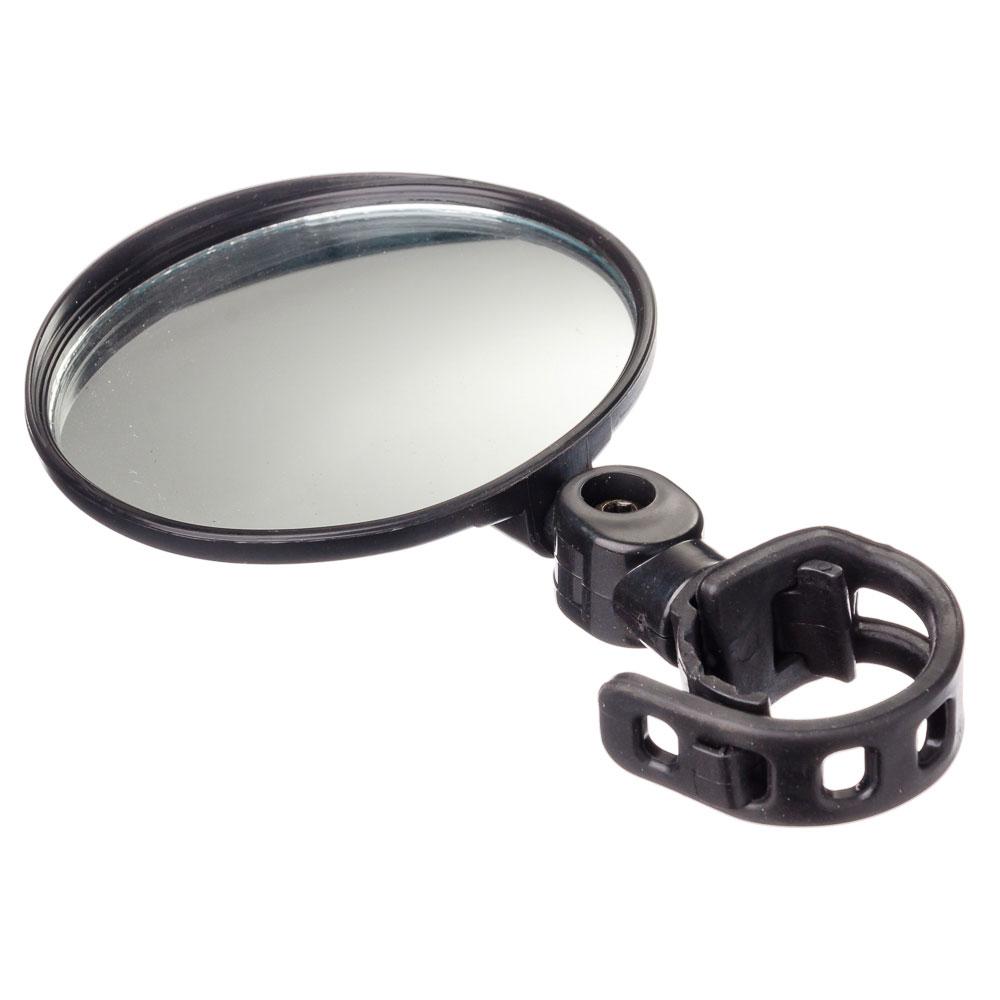 Зеркало с креплением на руль, круглое, d 8 см, стекло, пластик, SILAPRO