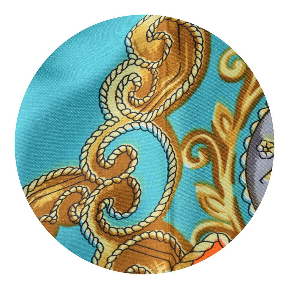 Платок шейный, 60х60см, полиэстер, 4 цвета