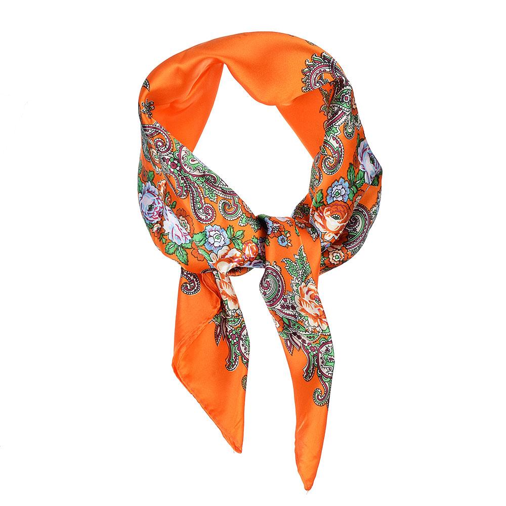 Платок шейный, 60х60см, полиэстер, 3 цвета, PL2017-37