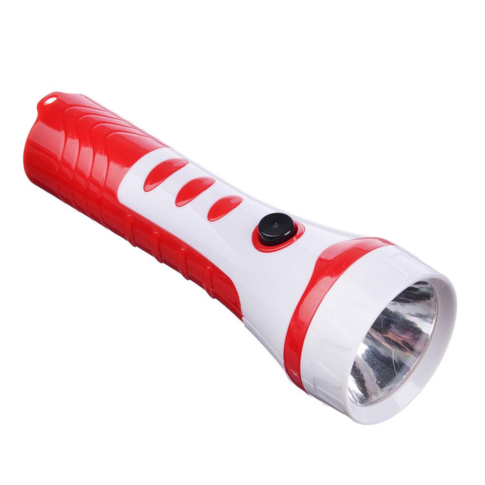 ЧИНГИСХАН Фонарик мини 1 LED, 1xAA, пластик, 12,5х4 см
