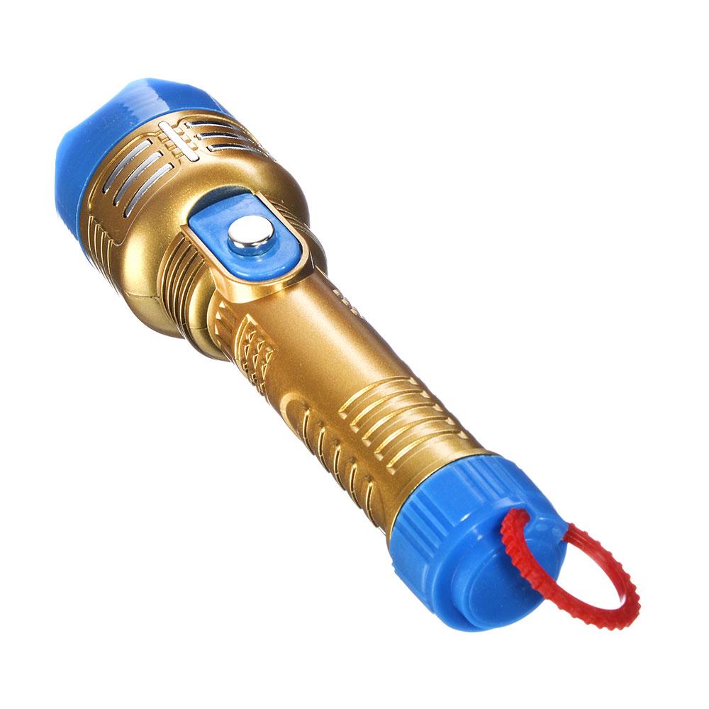 ЧИНГИСХАН Фонарь 0,5 Вт LED, 2xAA, пластик, 15,3х4,4 см
