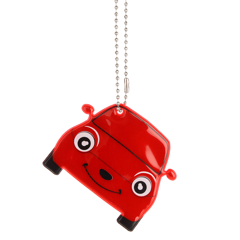 "NEW GALAXY Значок-подвеска светоотражающий ""Машина"", 6.5x5,5см"