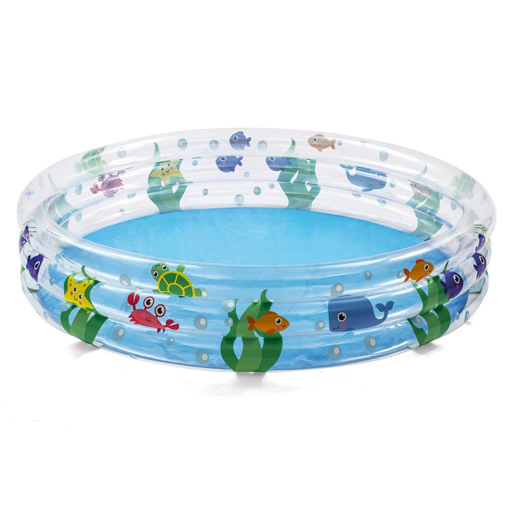 Надувной бассейн BESTWAY 51004 Подводный мир от 2 лет