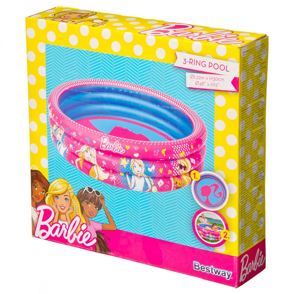 Надувной бассейн BESTWAY 93205 Barbie 122х30 см от 2 лет