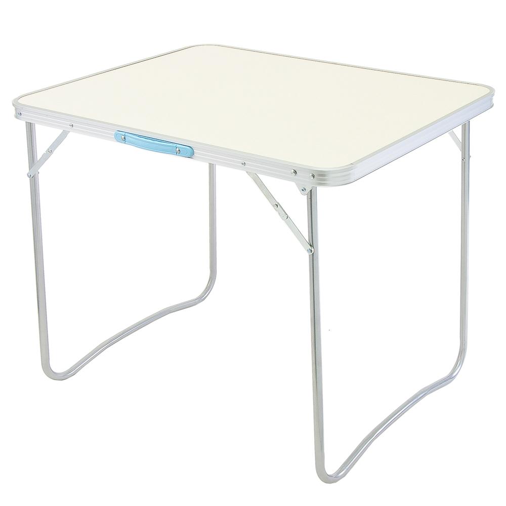 ЕРМАК Стол для кемпинга складной, 79x59см, алюминий + фиберглас, трубки d16мм, толщина настила 2,7мм