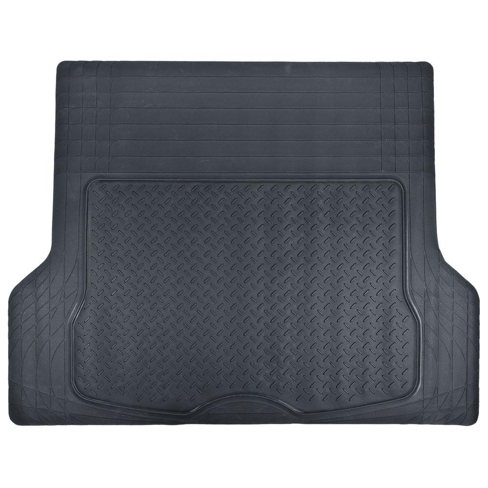 NEW GALAXY Коврик багажника, универсальный, из морозостойкой резины, черный, 111х142см