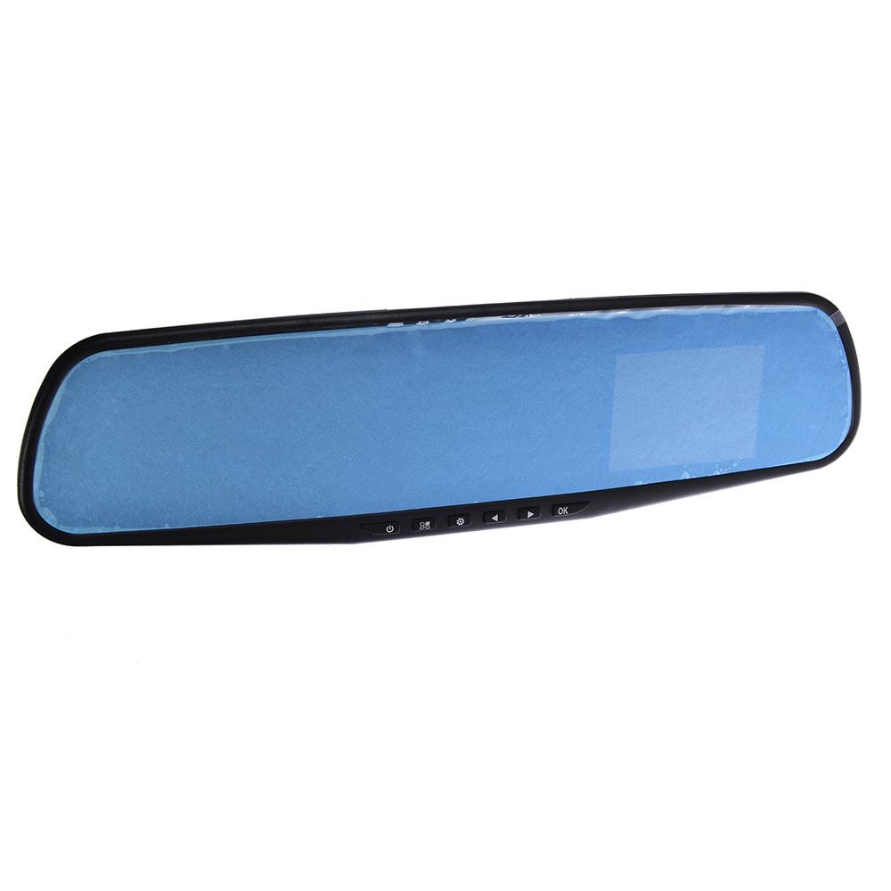 "NEW GALAXY Видеорегистратор Зеркало 2,5"" TFT экран, 1280x720 HD + карта памяти 4G (TF) CLASS10"