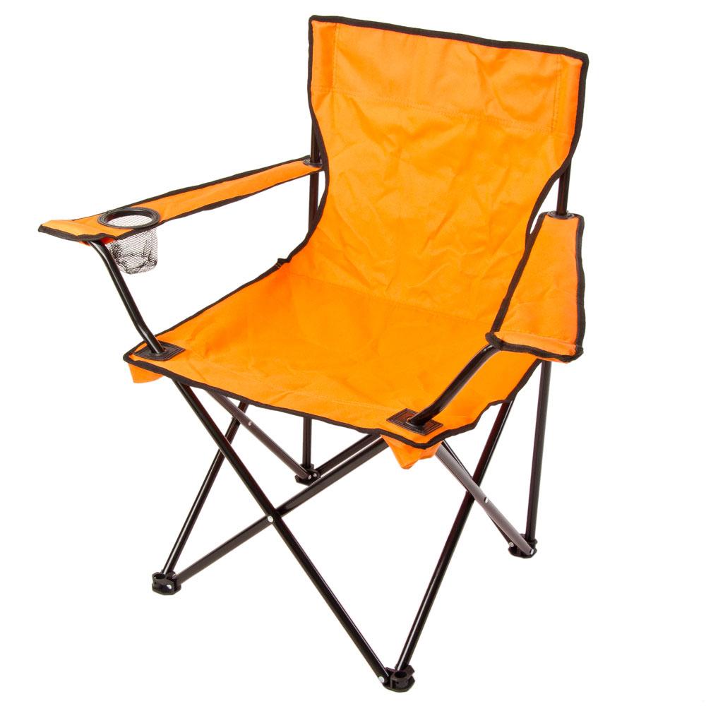 ЕРМАК Кресло складное, 50x50x80см, оранж