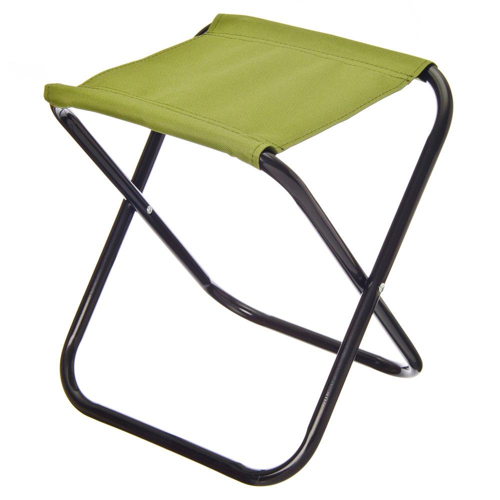 ЕРМАК Стул складной, 32x27x34см, зеленый
