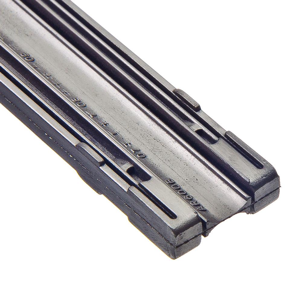 NEW GALAXY Резинки сменные для щеток стеклоочистителей 61см, 2 шт, блистер