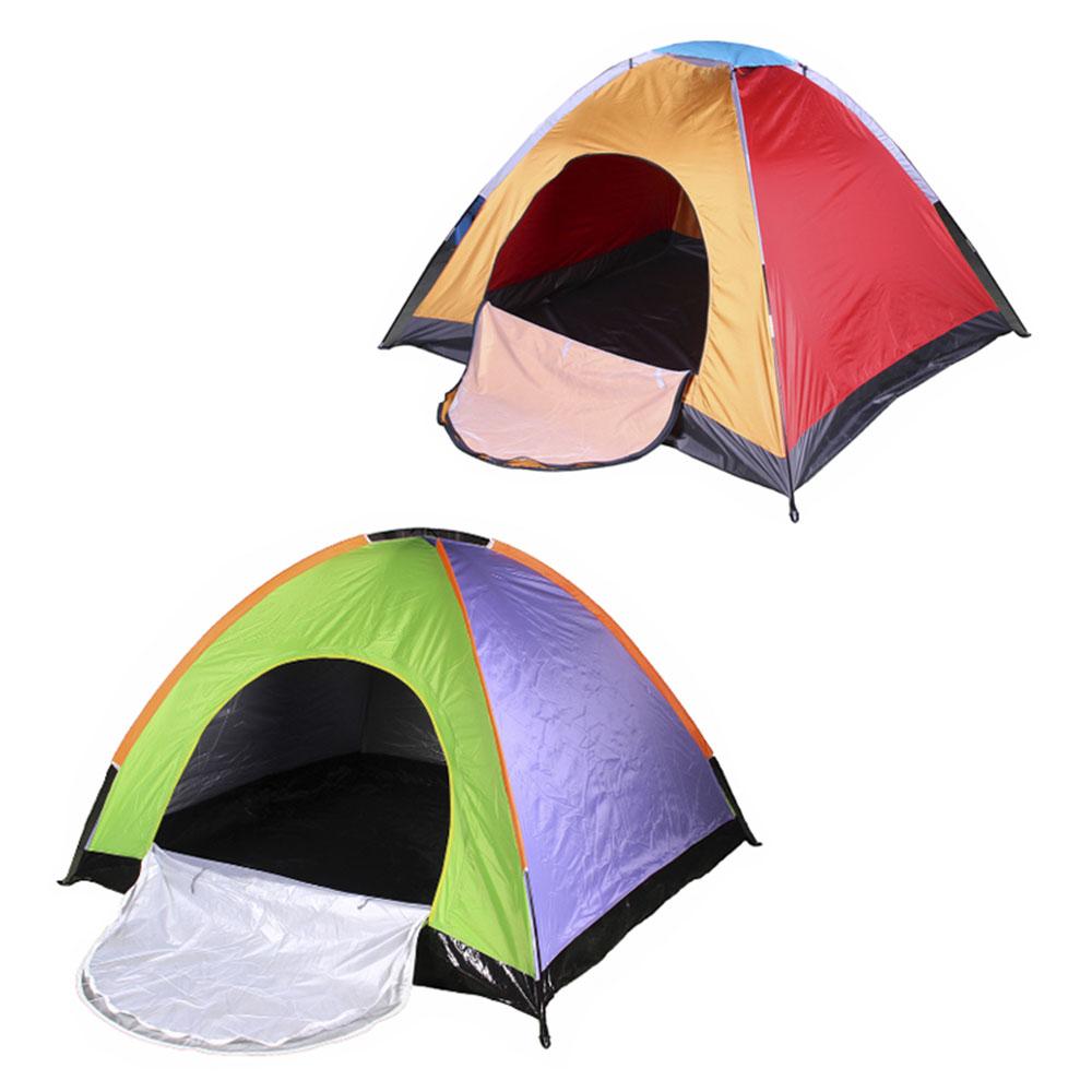 ЧИНГИСХАН Палатка 3-4 местная, однослойная, 2х1,8х1,35м, полиэстер 170Т, дно оксфорд 210D