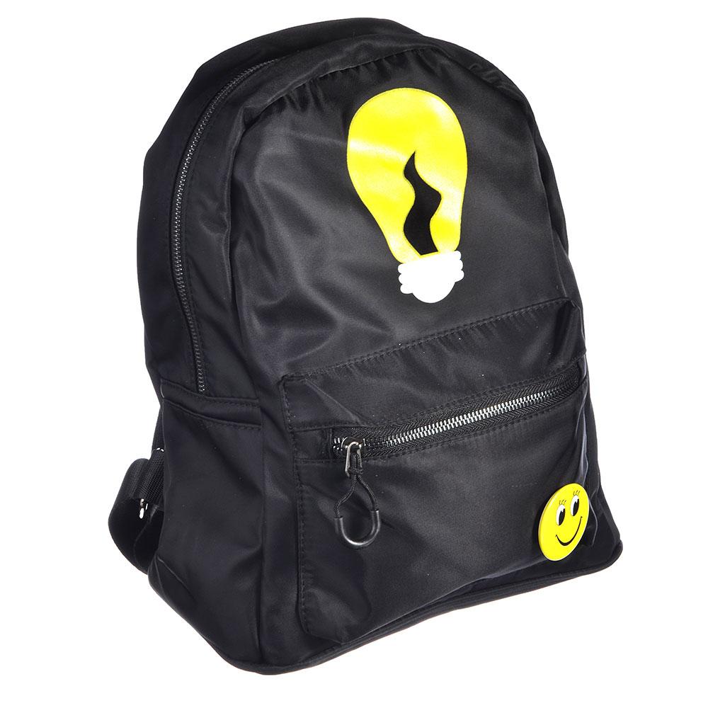 Рюкзак молодежный, 29,5х26х13 см, полиэстер, ПУ, 2 дизайна