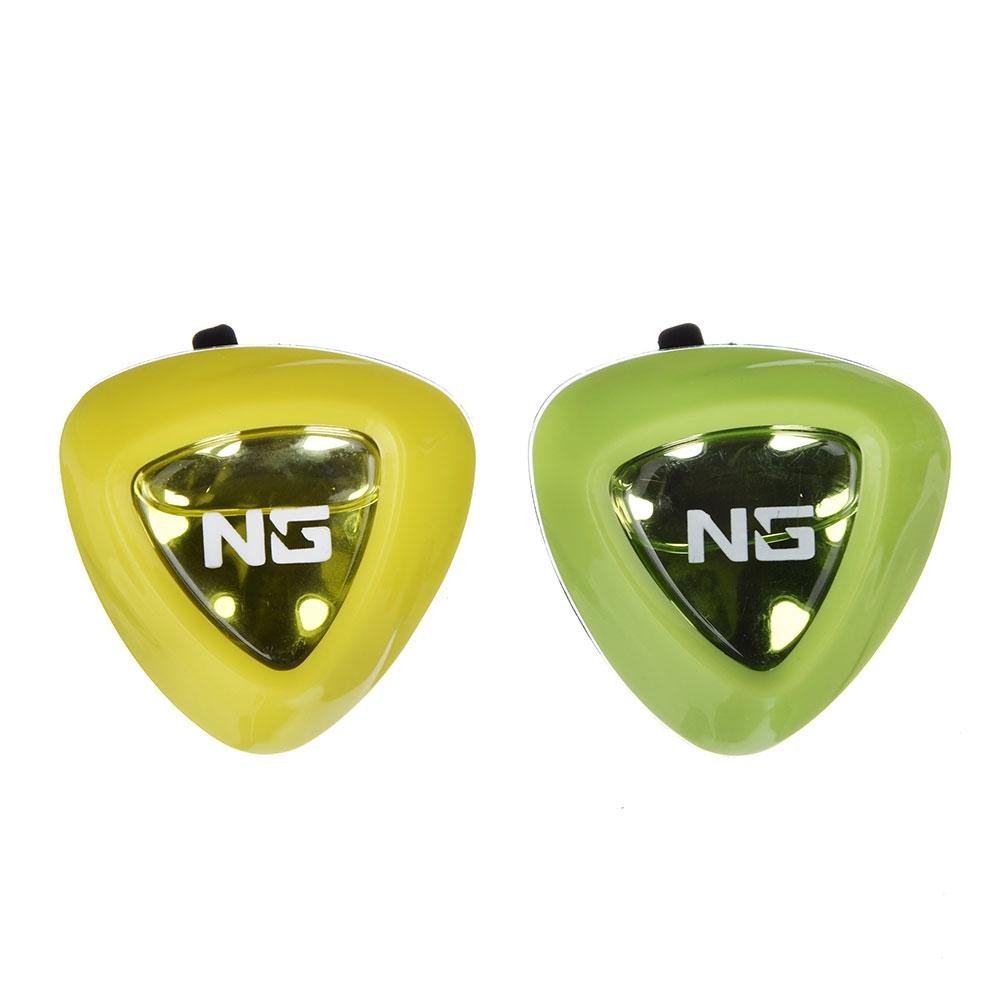 """Ароматизатор в машину на дефлектор, аромат лимон/ мята, """"Double Fresh 2 в 1"""" NEW GALAXY"""