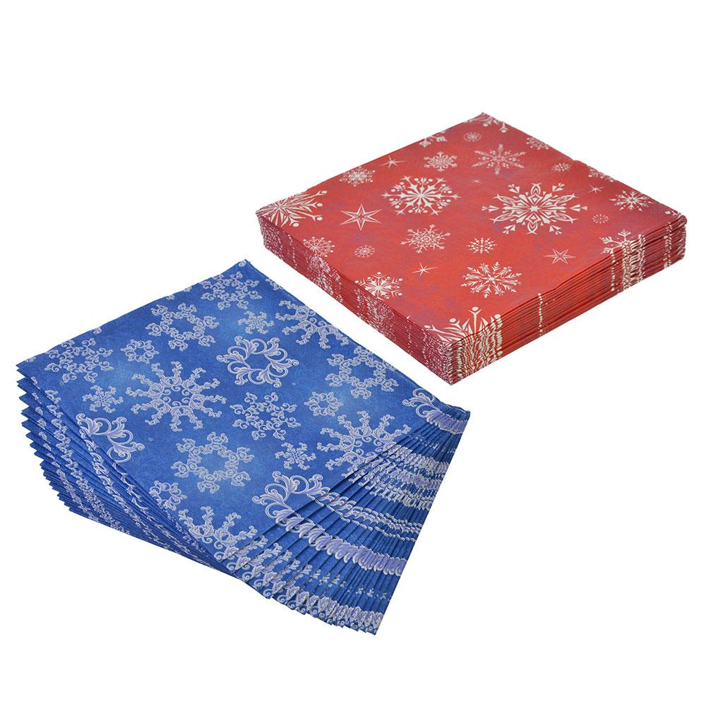 Салфетки бумажные Перышко/Лилия 33x33см, 20л, арт. 0312