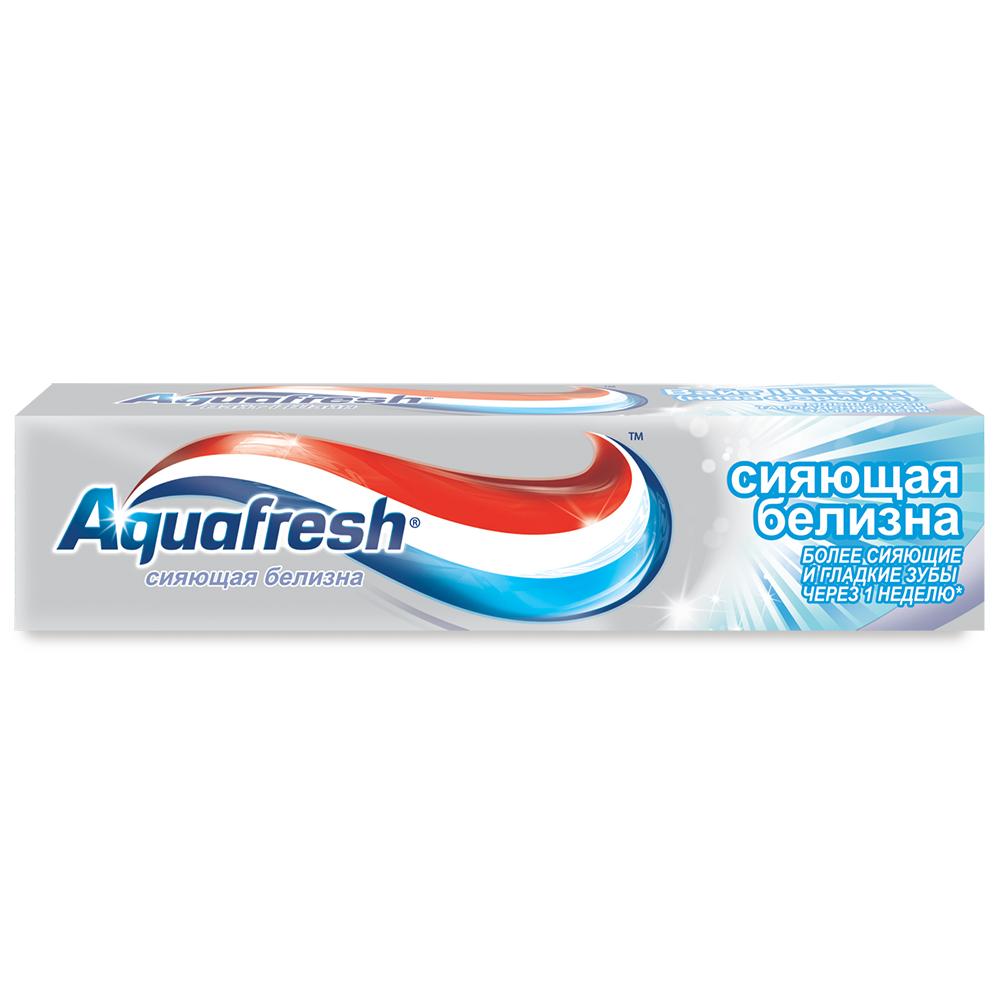 Зубная паста Аквафреш Сияющая белизна 100мл