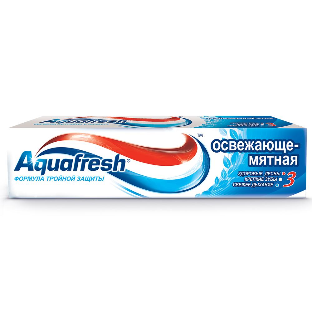 Зубная паста Аквафреш Освежающе-мятная 100/125мл