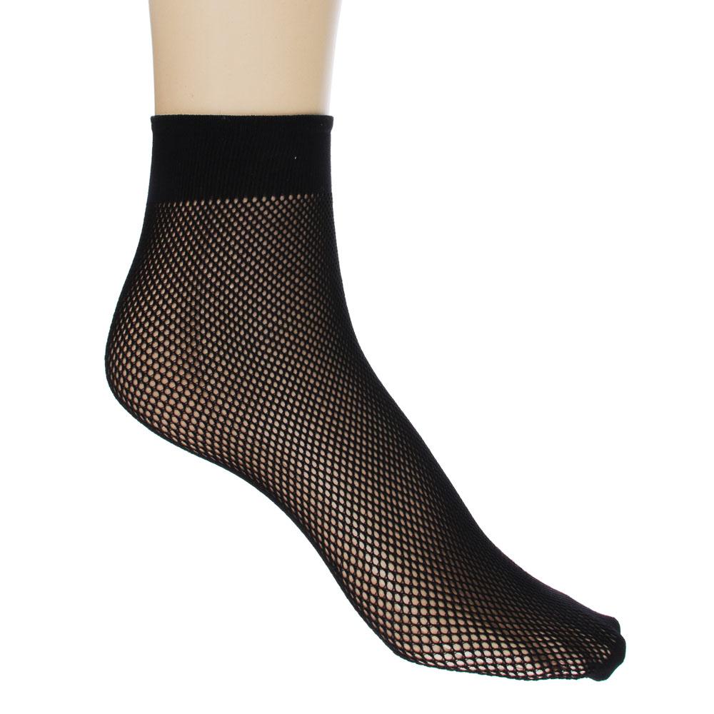 Носки капроновые 20ДЕН, размер свободный, 2 пары, черный