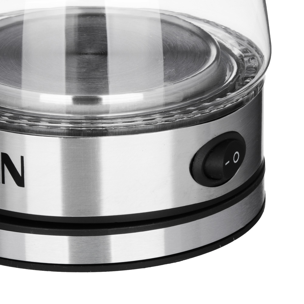 LEBEN Турка электрическая с выключателем 0,4л, 230V/50~60Hz, 500Вт, 2 цвета, пластик
