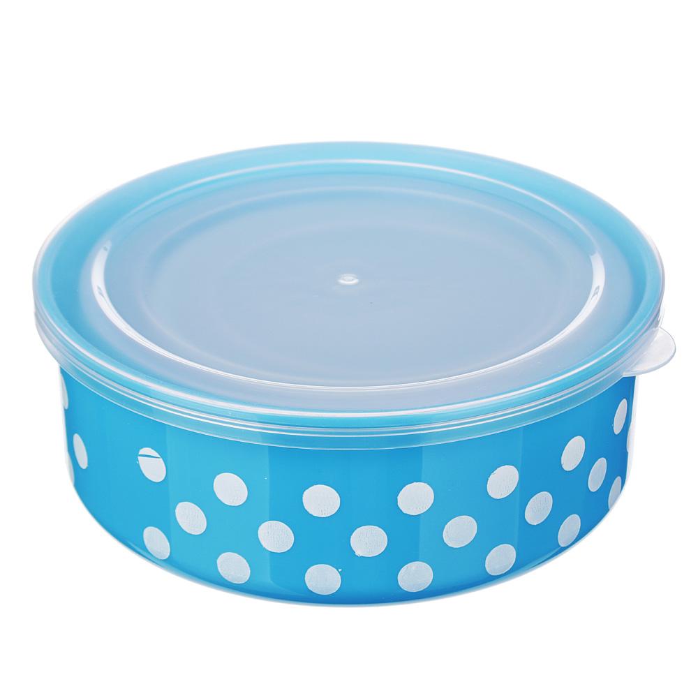Набор пищевых контейнеров 3 шт, пластик, 3 цвета