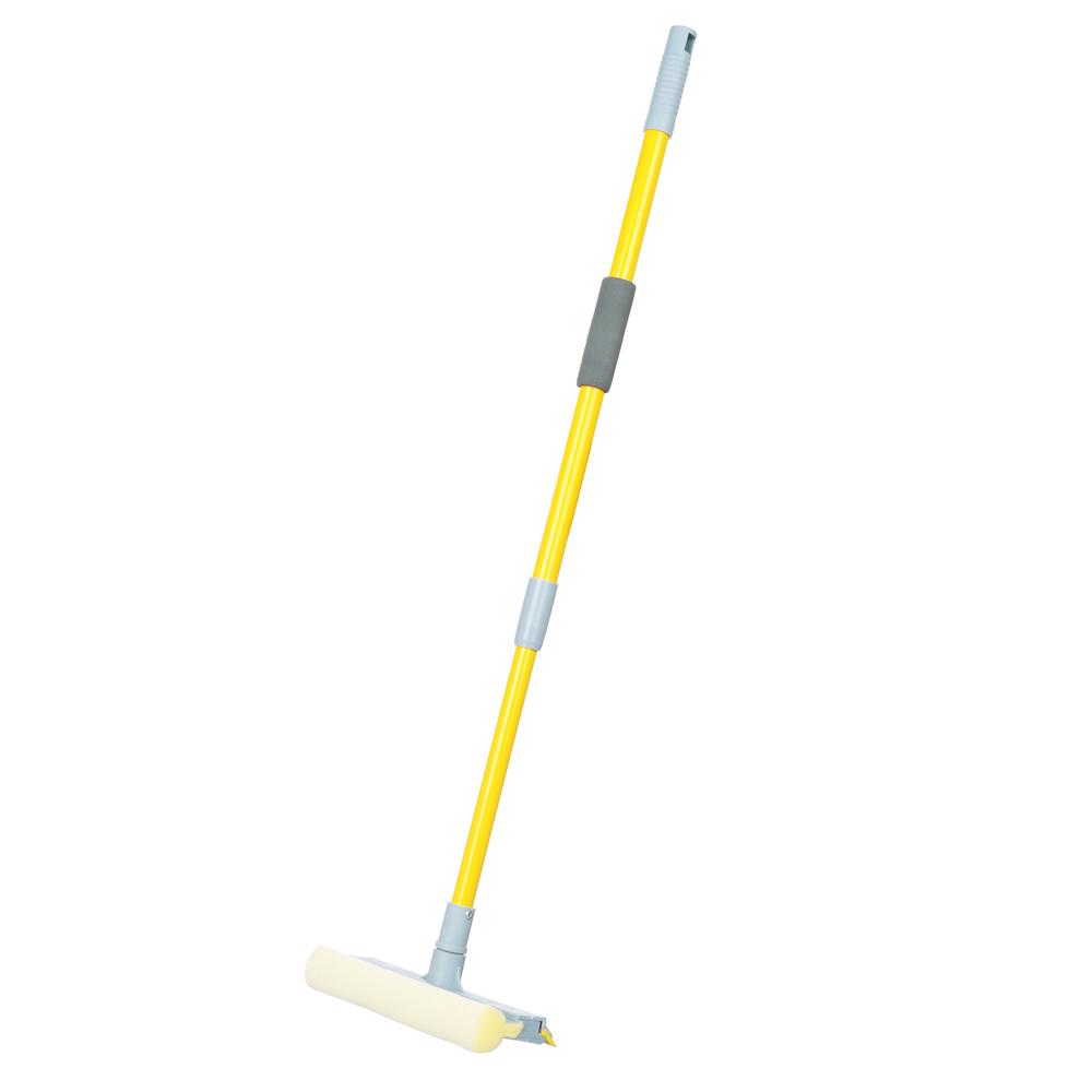 VETTA Окномойка с телескопической ручкой 96см насадка 20см