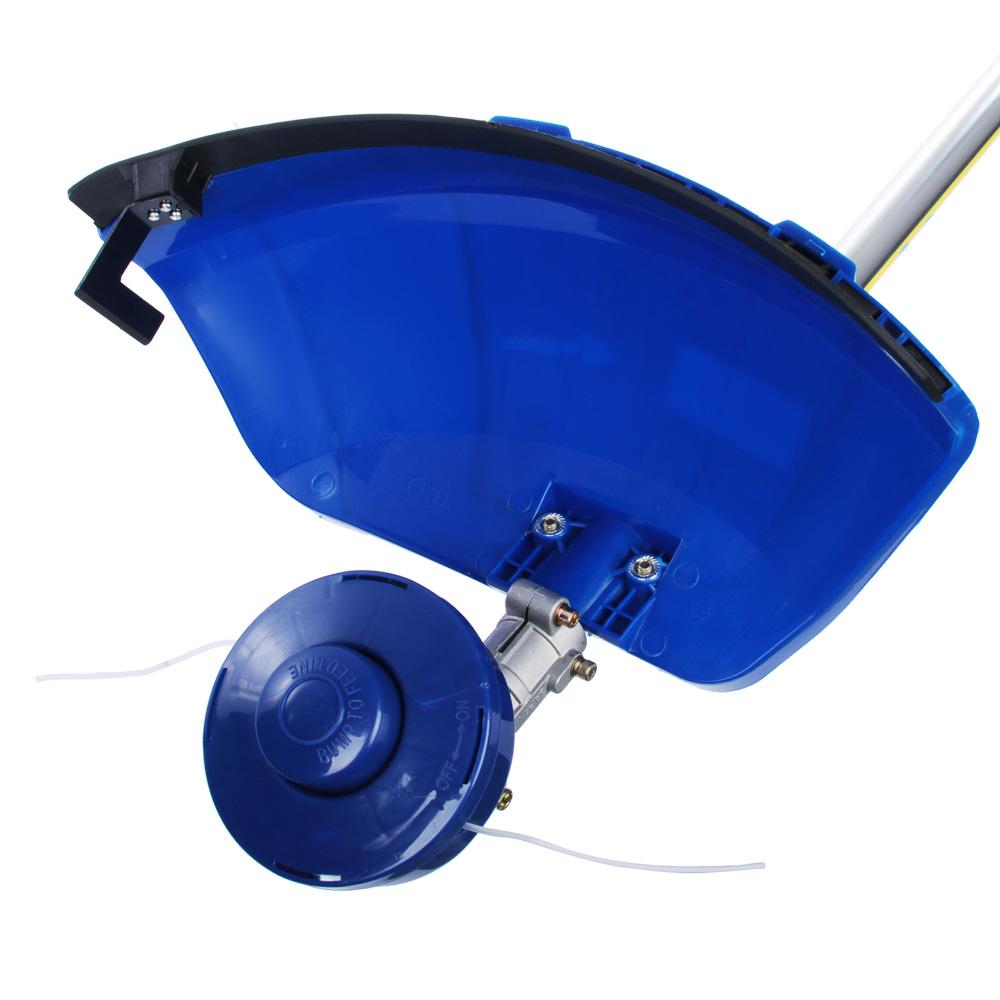 ЕРМАК Бензотриммер БТ-5215, 52 см3, 1,5 кВт, нож(255 мм)+катушка с леской(420мм)+штанга(647-994)